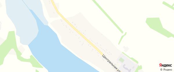 Центральная улица на карте села Жуково с номерами домов