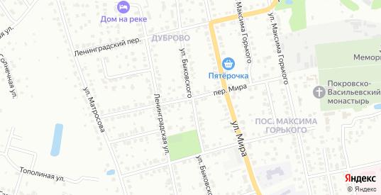 Переулок Мира в Павловском Посаде с номерами домов на карте. Спутник и схема онлайн