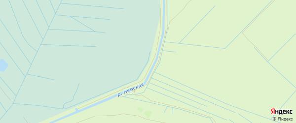 Территория Круглое на карте Воскресенского района Московской области с номерами домов