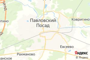 Карта г. Павловский Посад Московская область