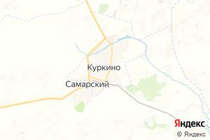 Карта пос. Куркино Тульская область