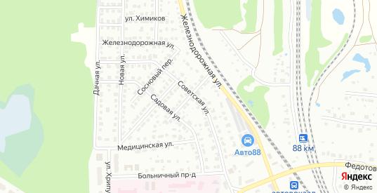 Тенистый переулок в Воскресенске с номерами домов на карте. Спутник и схема онлайн