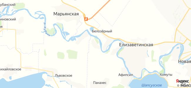 Псейтук на карте