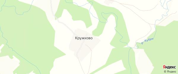 Карта деревни Кружково в Ярославская области с улицами и номерами домов