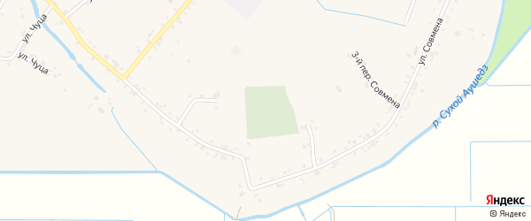 Дорога А/Д Подъезд к а. Панахес на карте аула Панахес Адыгеи с номерами домов