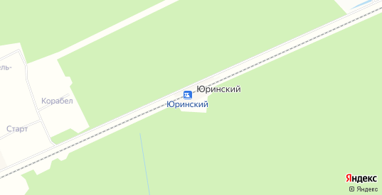 Карта разъезда Юринский в Ярославская области с улицами, домами и почтовыми отделениями со спутника онлайн