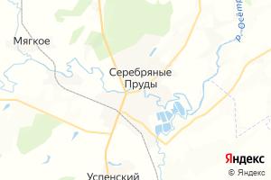 Карта г. Серебряные Пруды Московская область