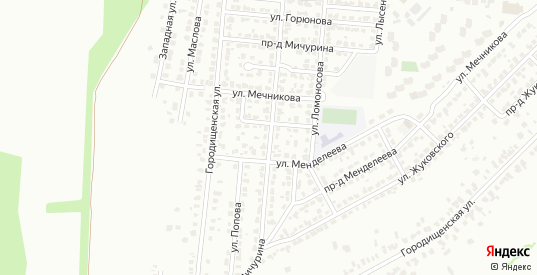 Улица Мичурина в Коломне с номерами домов на карте. Спутник и схема онлайн
