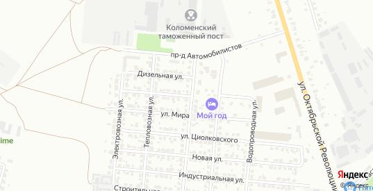 Транспортная улица в Коломне с номерами домов на карте. Спутник и схема онлайн