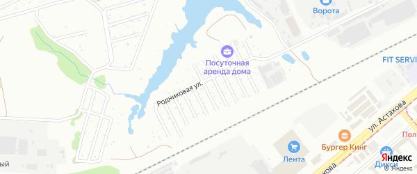ГСК Волна на карте Коломны с номерами домов