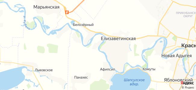 Хаштук на карте