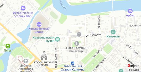 Улица Лазарева в Коломне с номерами домов на карте. Спутник и схема онлайн