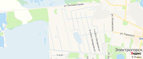 ГСК Мотор N20 на карте Электрогорска с номерами домов