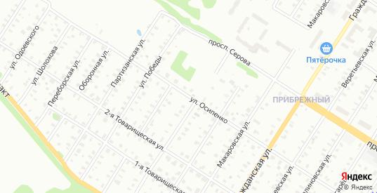 Улица Макаровская/Осипенко в Рыбинске с номерами домов на карте. Спутник и схема онлайн