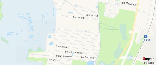 Садовое товарищество Дружба на карте Электрогорска с номерами домов