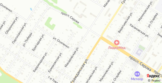 2-я Товарищеская/Макаровская улица в Рыбинске с номерами домов на карте. Спутник и схема онлайн