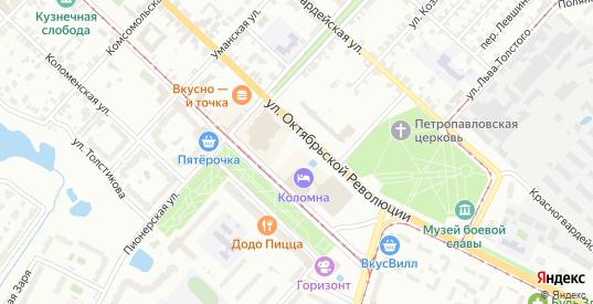 ГСК Колычевский-8 в Коломне с номерами домов на карте. Спутник и схема онлайн