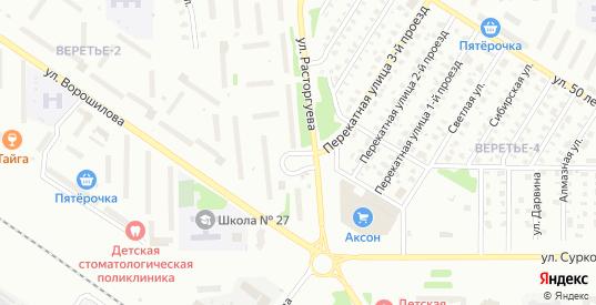 Улица Расторгуева в Рыбинске с номерами домов на карте. Спутник и схема онлайн