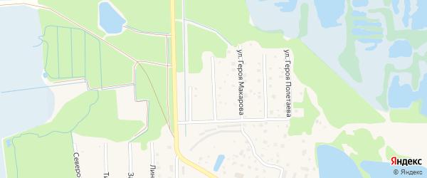 Улица Героя Селезнева на карте Электрогорска с номерами домов