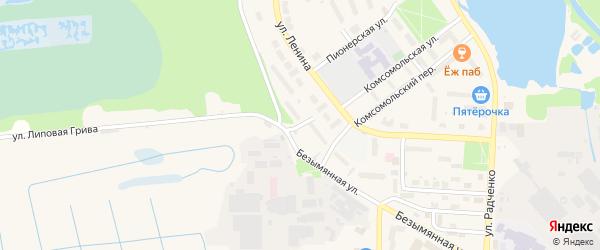 Улица Свердлова на карте Электрогорска с номерами домов