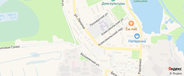 Улица Ленина на карте Электрогорска с номерами домов