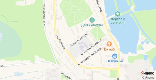 Пионерская улица в Электрогорске с номерами домов на карте. Спутник и схема онлайн
