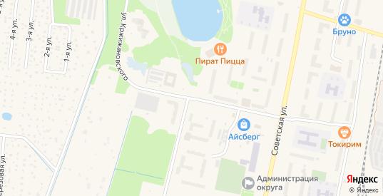 Улица Кржижановского в Электрогорске с номерами домов на карте. Спутник и схема онлайн