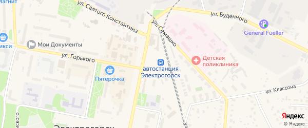 5-й Юго-Западный тупик на карте Электрогорска с номерами домов