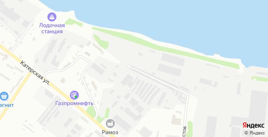 1-я Большая Тоговщинская улица в Рыбинске с номерами домов на карте. Спутник и схема онлайн