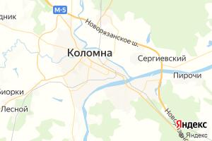 Карта г. Коломна Московская область