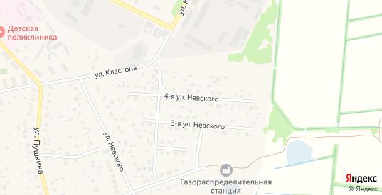 Невского 4-я улица в Электрогорске с номерами домов на карте. Спутник и схема онлайн