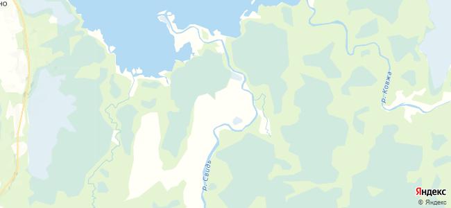 Спирово на карте