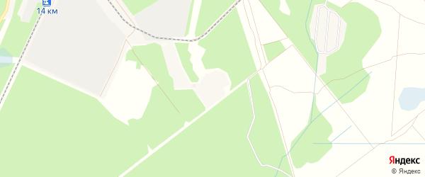 Садовое товарищество Березки на карте Электрогорска с номерами домов