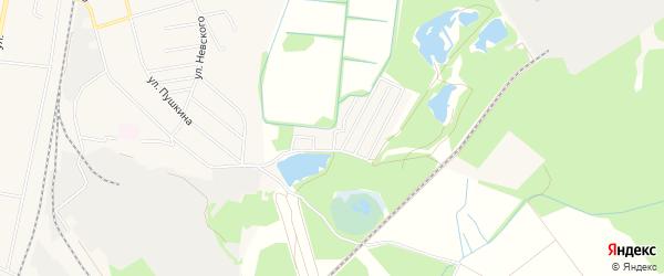 Садовое товарищество Некрасово на карте Электрогорска с номерами домов