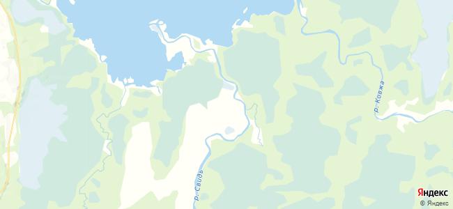 Село на карте