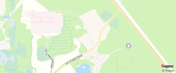 ГСК Белый Мох N26 ГСПК на карте Электрогорска с номерами домов