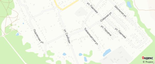 Центральная улица на карте Коломны с номерами домов