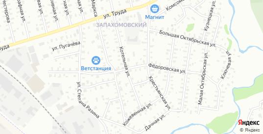 Федоровская улица в Рыбинске с номерами домов на карте. Спутник и схема онлайн