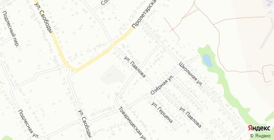 Школьный переулок в Коломне с номерами домов на карте. Спутник и схема онлайн