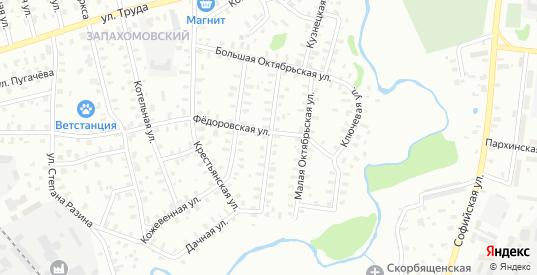 Улица Большая Октябрьская/Осташевский переулок в Рыбинске с номерами домов на карте. Спутник и схема онлайн