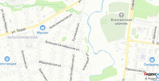 Улица Большая Октябрьская/Лермонтова в Рыбинске с номерами домов на карте. Спутник и схема онлайн