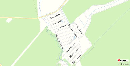 ГСК Березка на карте Петушков с номерами домов