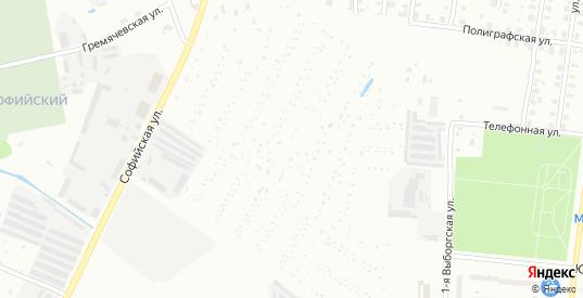 Территория СНТ Восход в Рыбинске с номерами домов на карте. Спутник и схема онлайн
