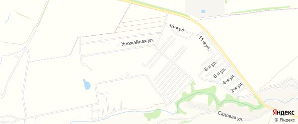 Карта поселка СНТ Орбиты в Воронежской области с улицами и номерами домов