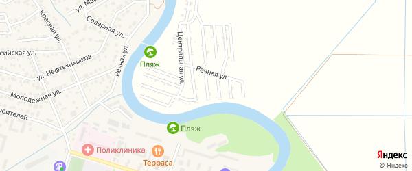 Ореховая улица на карте Мелиоратора Адыгеи с номерами домов