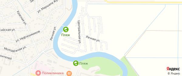 Центральная улица на карте Мелиоратора Адыгеи с номерами домов
