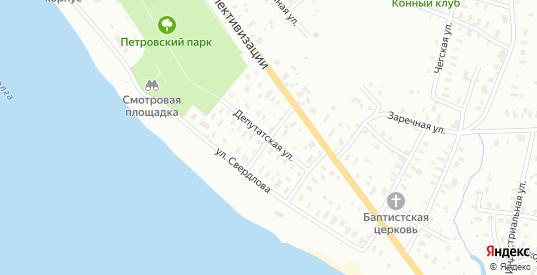 Улица Чернышевского в Рыбинске с номерами домов на карте. Спутник и схема онлайн