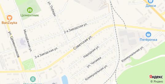Советская улица в Коломне с номерами домов на карте. Спутник и схема онлайн