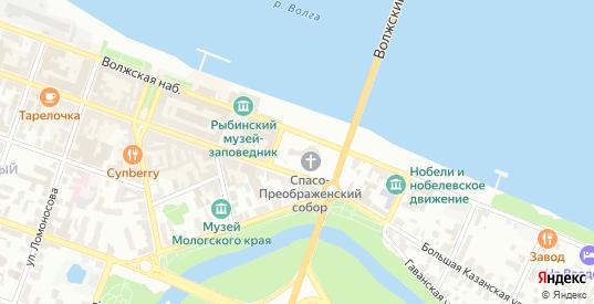 3-я Мягкая улица в Рыбинске с номерами домов на карте. Спутник и схема онлайн
