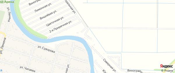 Приречная улица на карте 70 лет Октября Адыгеи с номерами домов